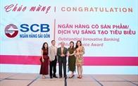 SCB lần thứ 3 liên tiếp nhận giải thưởng sản phẩm dịch vụ sáng tạo tiêu biểu