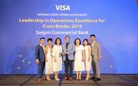SCB tiếp tục đoạt giải thưởng về hoạt động vận hành giao dịch thẻ tại nước ngoài