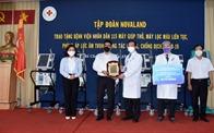 Novaland tài trợ thêm nguồn lực y tế cùng BV Nhân dân 115 đẩy lùi Covid-19