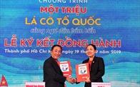 Nam A Bank trao cờ Tổ quốc chung ta bảo vệ biển đảo Việt Nam