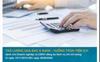 Tăng cường giao dịch trực tuyến tránh Covid 19, BAC A Bank tặng nhiều ưu đãi