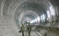 Diện mạo đường hầm metro số 1 xuyên lòng đất tại trung tâm TP.HCM