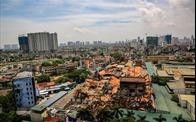 Cháy kho Rạng Đông do sự cố chập bảng mạch điện