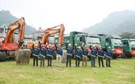 Hòa Bình làm nhà thầu chính tại dự án cao nhất tỉnh Hà Giang