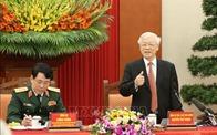 Tổng Bí thư, Chủ tịch nước gặp mặt điển hình xây dựng quốc phòng toàn dân