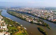 Hai giai đoạn mở rộng đô thị Huế