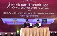 Novaland cùng Liên đoàn Quần vợt Việt Nam tổ chức Giải Quần vợt Quốc tế