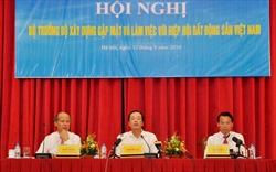 Bộ trưởng Bộ Xây dựng gặp mặt và làm việc với Hiệp hội Bất động sản Việt Nam
