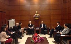 Chủ tịch Hiệp hội BĐS Việt Nam tiếp Phó Đại sứ Hoa Kỳ