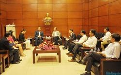 Chủ tịch Hiệp hội BĐS Việt Nam tiếp Tùy viên thương mại Đại sứ quán Iran