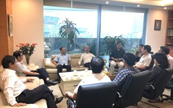 Chủ tịch VNREA tiếp đoàn Hội Bất động sản Bắc Giang