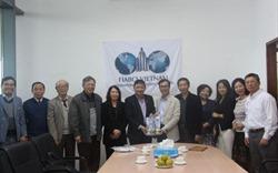 Hiệp hội Bất động sản Việt Nam gặp mặt đoàn Tổng hội Xây dựng Việt Nam