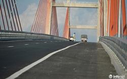 Cầu Bạch Đằng bị vênh, lún: Sẽ tiến hành bù vênh khi hết thời gian theo dõi