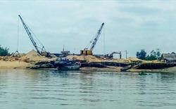 Cần Giờ: Tình trạng khai thác cát trái phép ở mức báo động
