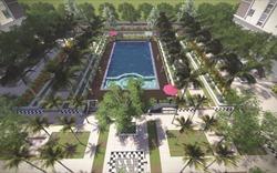 Cảnh quan sân vườn dự án EcoHome 2