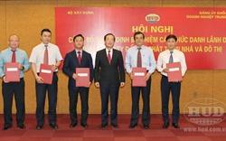 Bộ Xây dựng bổ nhiệm lãnh đạo Tổng Công ty HUD