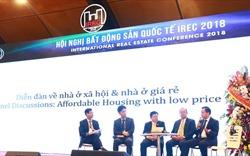Hội nghị Bất động sản Quốc tế - IREC 2018: Bàn về đô thị thông minh và nhà ở giá rẻ