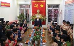 Tổng Bí thư, Chủ tịch nước chúc Tết tại Hà Nội