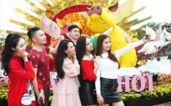 """Giới trẻ """"điên đảo"""" trước những khuôn hình đẹp không tì vết tại Lễ hội hoa xuân Sun World Halong Complex"""
