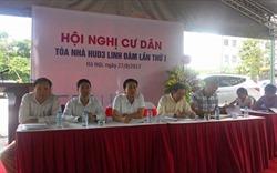 Hội nghị Chung cư CT3 dân chủ công khai , cởi mở
