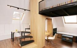 Thiết kế căn hộ nhỏ vẫn đủ tiện nghi, tràn ánh sáng của cặp vợ chồng trẻ