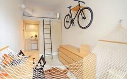 Anh chàng độc thân tự thiết kế nội thất ấn tượng cho căn hộ chỉ 13m2