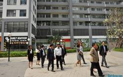 Hội đồng Giám khảo khảo sát những dự án cuối cùng tại khu vực Hà Nội