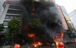 Cháy lớn ở Trần Thái Tông: Tổng kiểm tra PCCC quán karaoke, vũ trường