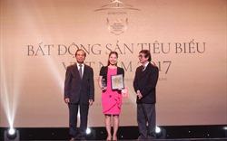 Khang Điền vinh danh nhận giải thưởng Nhà phát triển bất động sản tiêu biểu năm 2017