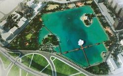 2020 sẽ hoàn thành Công viên và hồ điều hòa Cầu Giấy