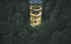 """Ngắm ngôi nhà kính """"cướp"""" cây gây tranh cãi trong giới kiến trúc"""