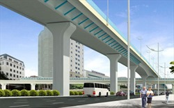 Khởi công xây dựng đường trên cao 9.400 tỷ đồng tại nội đô Hà Nội
