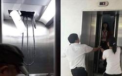 Muôn kiểu sự cố thang máy chung cư: Bục trần, rơi tự do