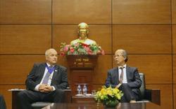 Chủ tịch VNREA Nguyễn Trần Nam tiếp Chủ tịch Liên đoàn Bất động sản Thế giới (FIABCI)