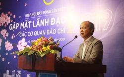 Hiệp hội Bất động sản Việt Nam gặp mặt lãnh đạo cơ quan thông tấn báo chí