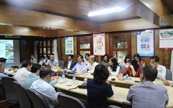 Lãnh đạo Hiệp hội Bất động sản Việt Nam thăm công trường dự án của hội viên