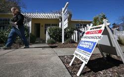 Giá nhà ở Mỹ tăng chậm nhất trong vòng sáu năm qua