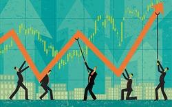 """Cổ phiếu ngân hàng """"dậy sóng"""", Vn-index """"xanh vỏ đỏ lòng"""""""
