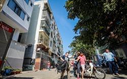Chung cư nghiêng 45cm ở trung tâm Sài Gòn chuẩn bị tháo dỡ