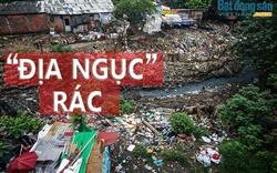 """Kinh hoàng """"địa ngục rác"""" Long Biên"""