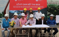 Nỗ lực cán đích bàn giao nhà giai đoạn 1 TMS Grand City Phuc Yen