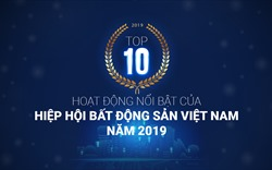 Top 10 activities of the Vietnam National Real Estate Association in 2019