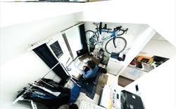 Căn hộ siêu nhỏ và tài thiết kế nội thất của người Nhật