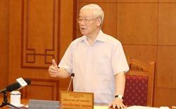 Tổng Bí thư, Chủ tịch nước chủ trì họp Tiểu ban Nhân sự Đại hội Đảng