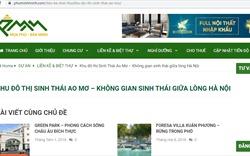 Công ty Vĩnh Hưng cảnh báo về thông tin dự án của đơn vị bị rao bán trên mạng