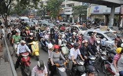 Cấm xe máy tại nội thành: Thực hiện từng bước theo lộ trình