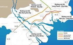 Các nguyên tắc chuyển đầu tư công 3 dự án cao tốc Bắc - Nam phía Đông