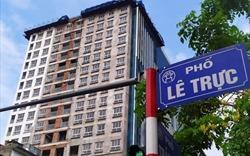 """Xử lý xây vượt tầng ở Hà Nội: Mới """"đụng"""" được 2/40 công trình"""