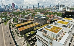 """Kiến trúc xanh - nguồn """"năng lượng"""" mới của đô thị"""