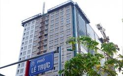 Quận Ba Đình bác đề xuất chủ đầu tư dự án 8B Lê Trực tự tháo dỡ tầng 18